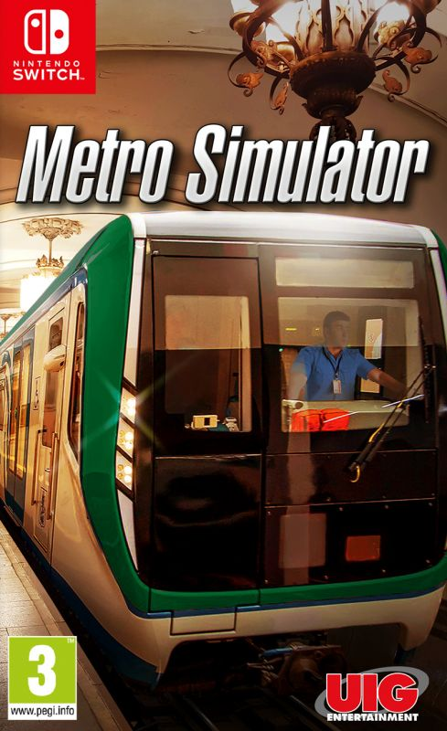 Metro Simulator [Code In A Box] (Switch)