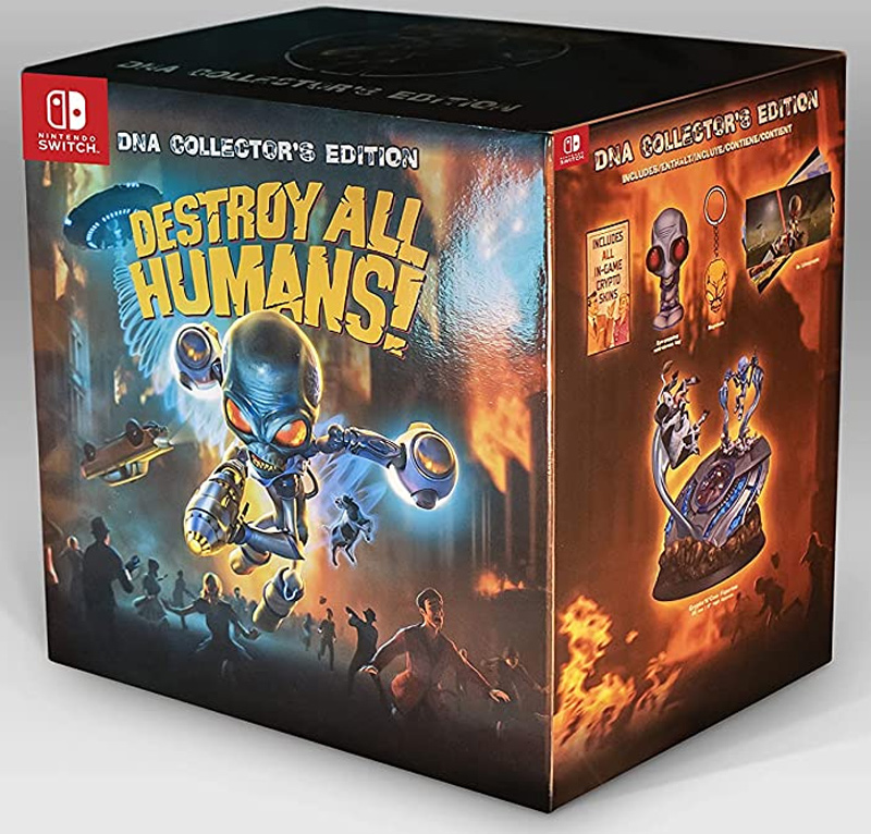 Destroy All Humans! DNA Collector