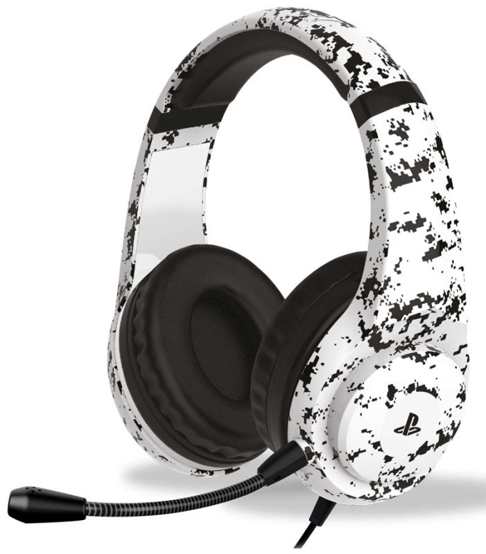 4Gamers PRO4-70 Stereo Gaming Headset - Arctic Camo (PS4)