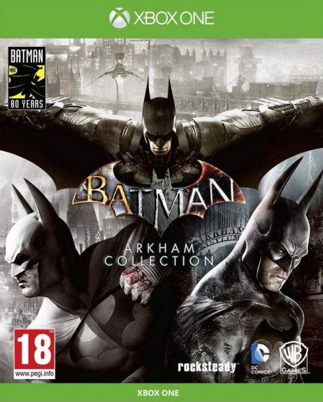 Batman Arkham Collection Triple Pack (Xbox One) Preowned