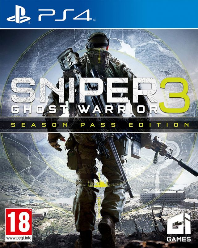 Sniper Ghost Warrior 3 - Season Pass Edition (PS4) Preowned