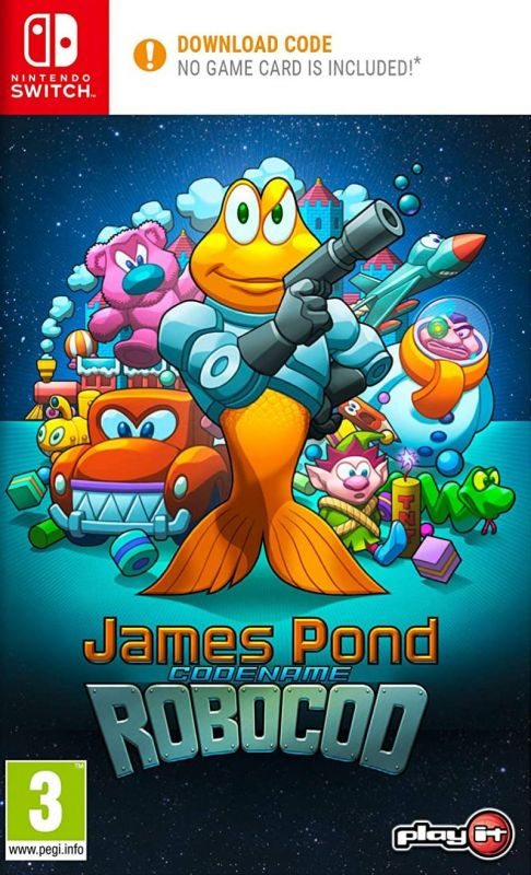James Pond Codename Robocod [Code In A Box] (Switch)