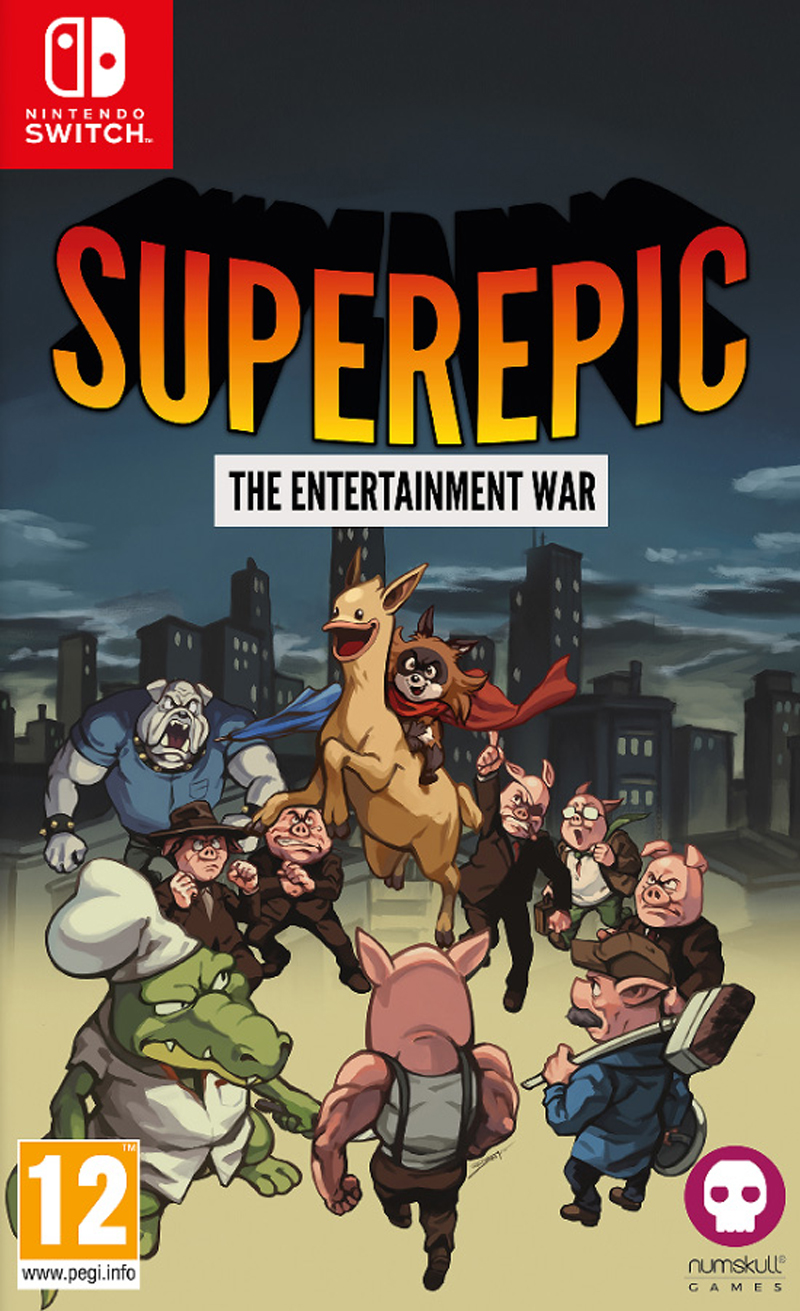 SuperEpic: The Entertainment War (Switch)