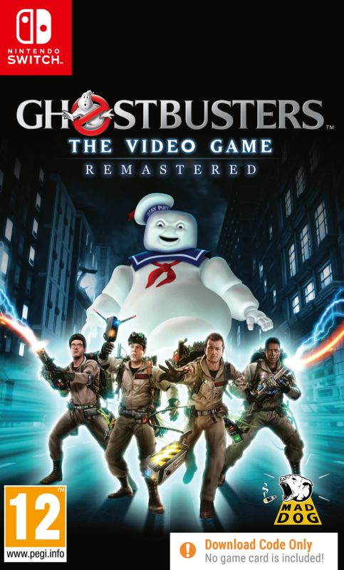 Ghostbusters The Video Game Remastered - Code In Box (Switch)
