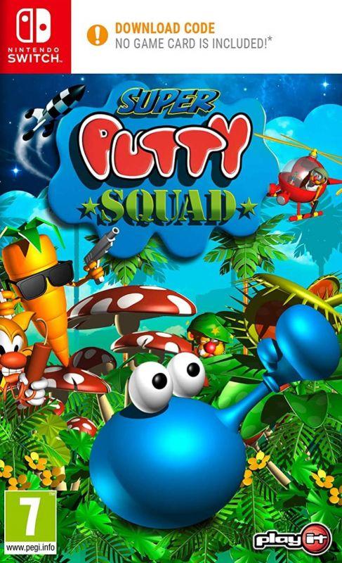 Super Putty Squad [Code In A Box] (Switch)