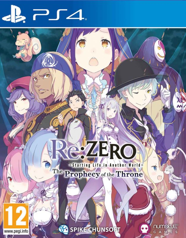 Re:ZERO - The Prophecy of the Throne: Collector's Edition (PS4)