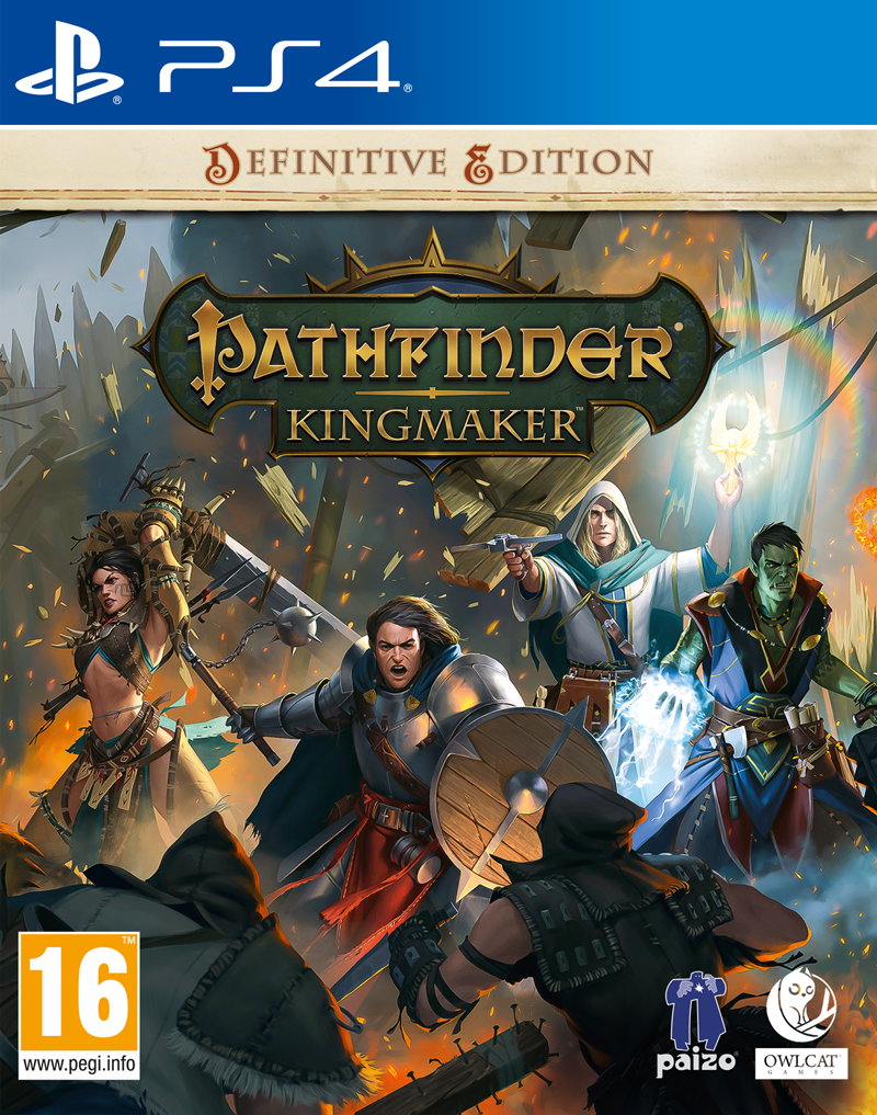 Pathfinder: Kingmaker Definitive Edition (PS4)