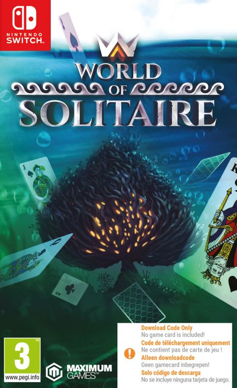 World Solitaire - Code In Box (Switch)