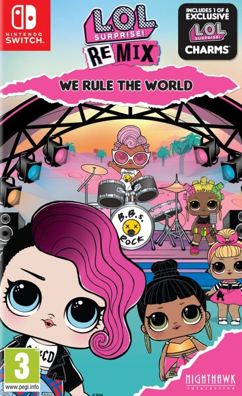 L.O.L Surprise! - Remix Edition: We Rule The World (Switch) Pre Owned