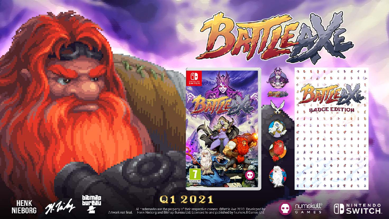 Battle Axe - Badge Edition (Switch)