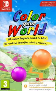 Color Your World [Code In A Box] (Switch)
