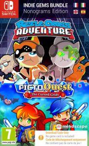 Piczle Puzzle Adventures + Picto Quest Puzzle Bundle [Code In A Box] (Switch)