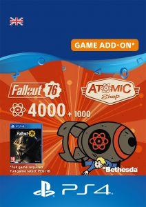 Fallout 76 4000 + 1000 Atoms - Digital Code - UK account