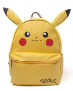 POKEMON Pikachu Shaped Backpack with Ears, Yellow