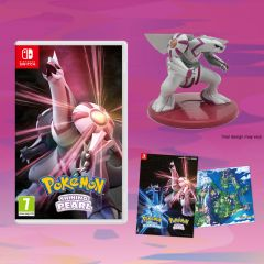 Pokemon Shining Pearl With FREE Palkia Figurine And Double Sided Poster (Switch)