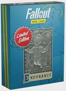Fallout - Limited Edition Replica Perk Card - Endurance