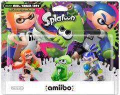 Splatoon Amiibo Triple Pack (Girl/Squid/Boy)