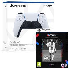 FIFA 21 NXT LVL & PlayStation 5 DualSense Controller Bundle