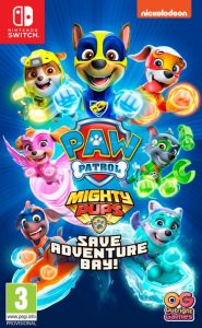 Paw Patrol Mighty Pups Save Adventure Bay! [Code In A Box] (Switch)