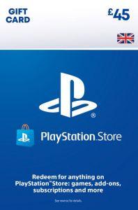 PSN Wallet Top Up - £45.00 - Digital Code - UK account