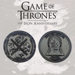 Iron Game Of Thrones Anniversary Collectible
