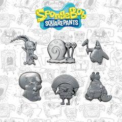 Spongebob Set Of 6 Limited Edition Pins