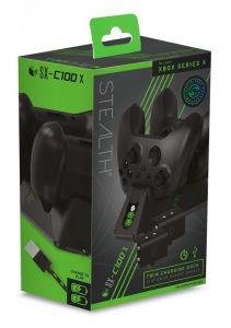 Stealth SX-C100X Twin Charging Dock - Black (Xbox Series X)