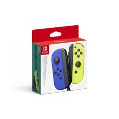 Nintendo Switch Joy-Con Controller Pair - Blue/Neon Yellow (Switch)