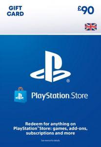 PSN Wallet Top Up - £90.00 - Digital Code - UK account
