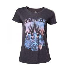 MARVEL COMICS Guardians of the Galaxy Vol. 2 Women's Guardians T-Shirt, Large, Dark Grey