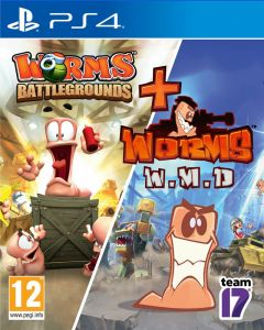 Worms Battlegrounds + Worms WMD (PS4)