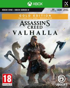 Assassin's Creed Valhalla - Gold Edition With Free Eivor Viking Statuette (Xbox One)
