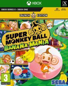 Super Monkey Ball Banana Mania Launch Edition (Xbox Series X)