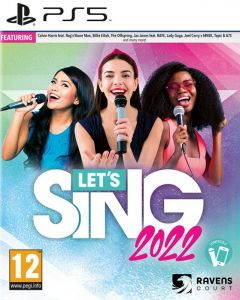 Let's Sing 2022 With Mic (PS5)