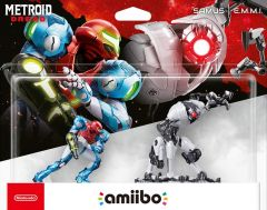 Samus And E.M.M.I. Bundle Pack Amiibo (Amiibo)