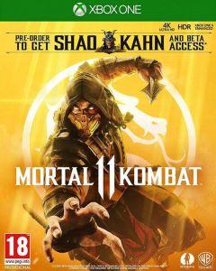 Mortal Kombat 11 with Shao Kahn Playable Character (Xbox One)