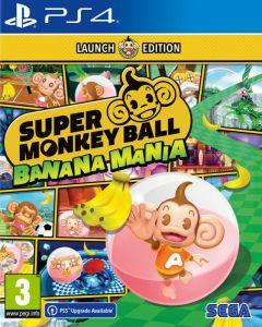 Super Monkey Ball Banana Mania Launch Edition (PS4)
