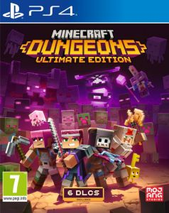 Minecraft Dungeons Ultimate Edition (PS4)