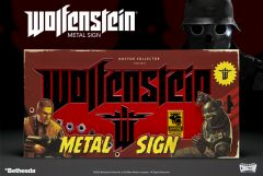 """Wolfenstein """"The New Colossus"""" Metal Sign"""