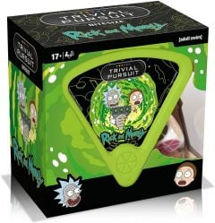 Rick And Morty Trivial Pursuit Quiz Game - Bitesize Edition
