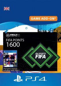 1600 FIFA 21 FUT Points Pack - Digital Code - UK account