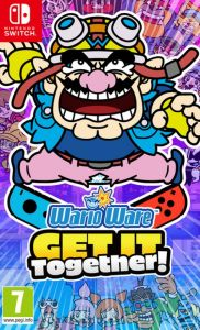 WarioWare: Get It Together! With FREE Keyring And Sticker Sheet (Switch)
