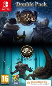 Dark Thrones/Witch Hunter Double Pack [Code In A Box] (Switch)