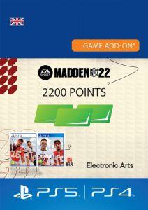 MADDEN NFL 22 - 2200 Madden Points - UK account