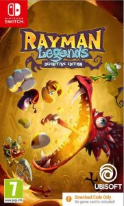 Rayman Legends Definitive Edition [Code In A Box] (Switch)