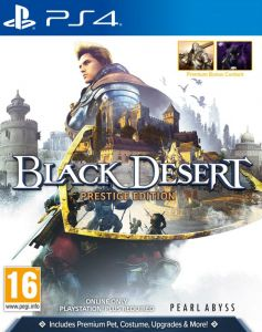 Black Desert Prestige Edition (Physical Disc) (PS4)
