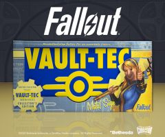 "Fallout ""Vault-Tec"" Metal Sign"