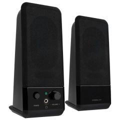SPEEDLINK Event USB 2.0 Stereo Speakers, Black
