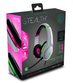 STEALTH XP-Match Your Set-Up Gaming Headset Pink/Green