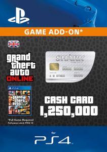 GTA V - Great White Shark Cash Card - Digital Code
